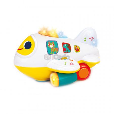 Avion interactiv cu lumini și sunete Hola 6103 poza 2