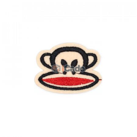 Cap de maimuta brodat Dimensiune: 4.5 x 3.5 cm Modalitate de aplicare: lipici