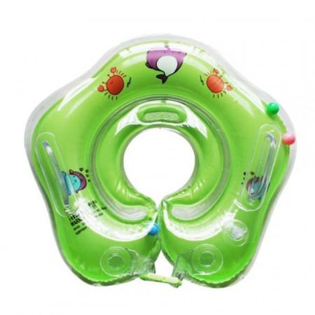 Colac pentru gât pentru bebeluși cu vârsta între 1 lună și 3 ani, model YT-076 verde