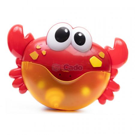 Crabul care face spumă și cântă Baia copilului va fi mai distractivă poza 1