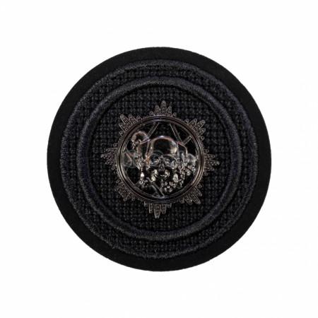 Emblema brodata 5.5x5.5cm metal