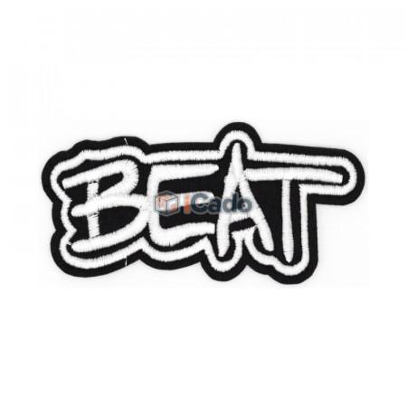 Emblema brodata Beat 10x5cm