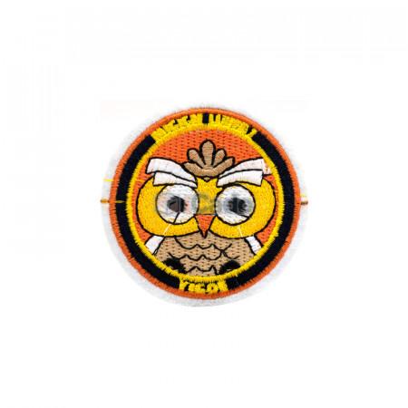 Emblema brodata Bufnita 7x7cm