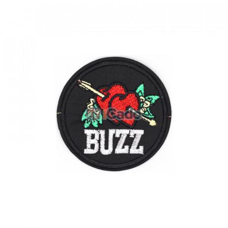 Emblema brodata Buzz 7x7cm