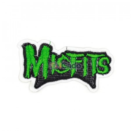 Emblema brodata MisFits 8.5x4.5cm