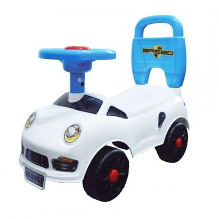 Mașină fără pedale albă model Happy Star 2 QX-3390-1