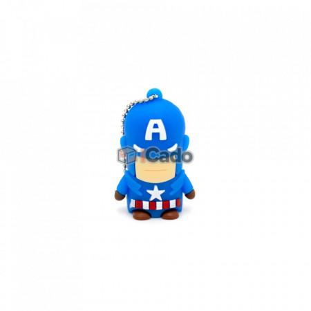 Memorie USB de 16GB, USB 2.0 Captain America poza 1