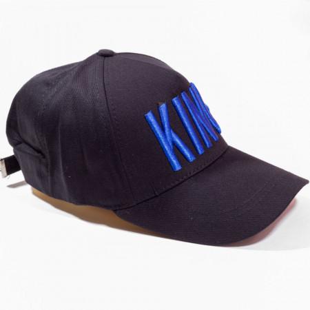 Șapcă neagră logo King albastru