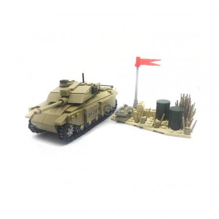 Tanc KFOR format din 311 Piese de tip LEGO de la KAZI model KY84045 poza 2