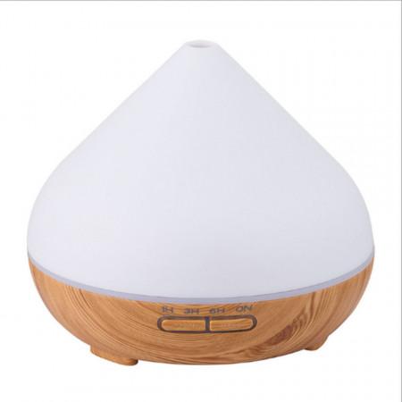 Umidificator, Difuzor de Aromă, Aromaterapie de 500 ml. Umidificator cu difuzor cu ultrasunete. Material: ABS + PP
