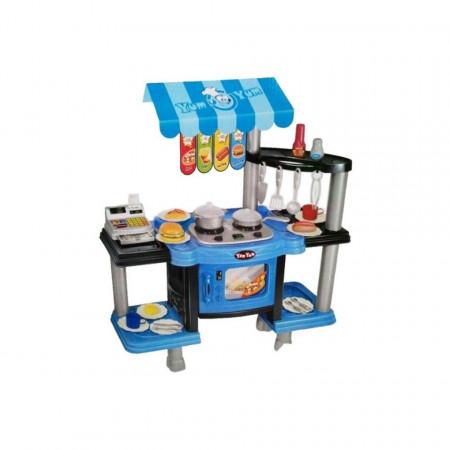 Bucătărie de jucărie cu sunete și lumini, Kitchen Set model 383-008 poza 1