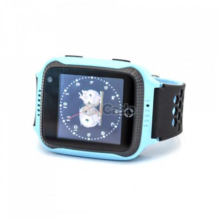 Ceas pentru copii ModelQ528 G900Acu Camera de 0.3MP albastru poza 1