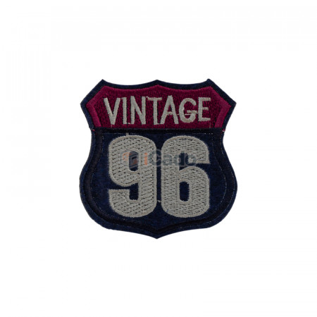 Emblema brodata Vintage 96 7x7cm