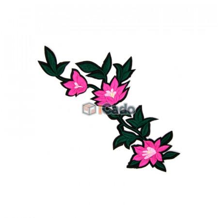 Floare brodata 20x33.5cm