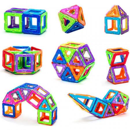 Joc magnetic cu 36 piese, Mag-Building, model 36