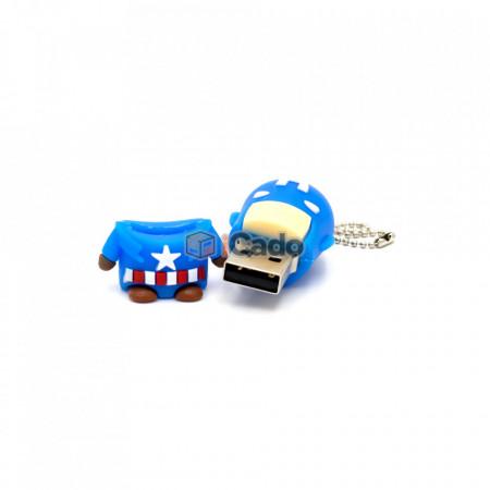Memorie USB de 16GB, USB 2.0 Captain America poza 3