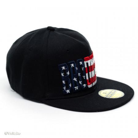 Șapcă logo Brooklyn neagră poza 1