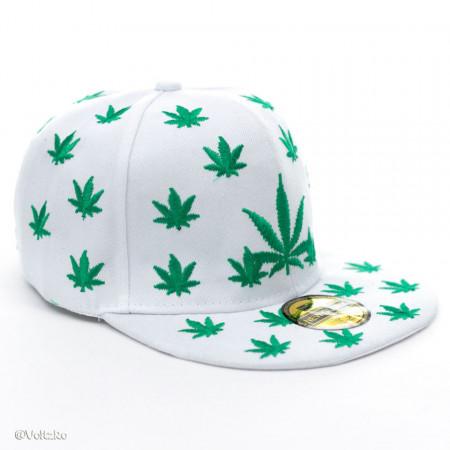 Șapcă Marijuana albă poza 1