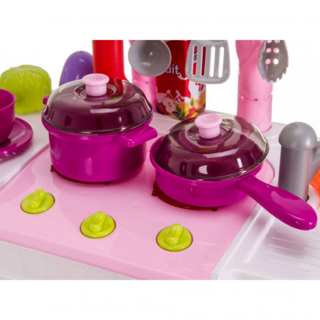 Plita cu oală și wok bucătărie pentru copii