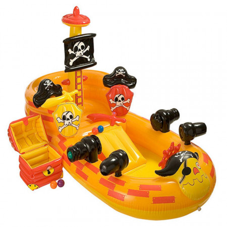 Spațiu de joacă gonflabil model Pirate Ship 163 x 305 x 152 cm marca Intex poza 1