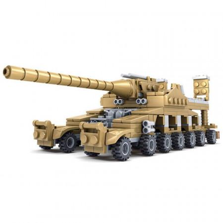 Super Tanc tip LEGO Thunder Fire 16 în 1 de la Kazi KY84031