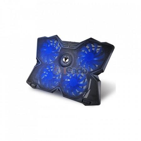 """Suport de răcire CoolCold K25 cu 4 ventilatoare pentru laptop-ui de 17"""" poza 1"""