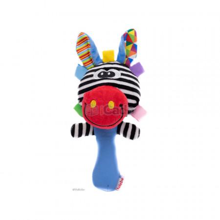 Zebra Chițăilă, Jucărie de mână pentru bebeluși poza 1