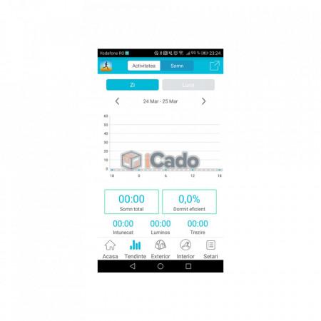 Brățară Fitness Roșie Letine Sistem: Andriod 4.3+ și iOS 8.0+ poza 3