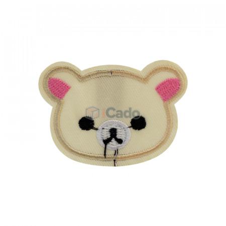 Cap de ursuleț brodatModalitate de aplicare: lipici