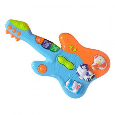 Chitară de jucărie pentru bebeluși 855-34A
