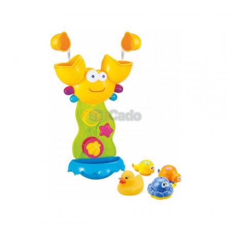 Crabul și prietenii, jucărie pentru baia copiilor (8815) poza 1