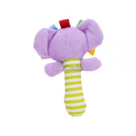 Elefantul Chițăilă - Jucărie de mânăpentru bebelusi poza 2