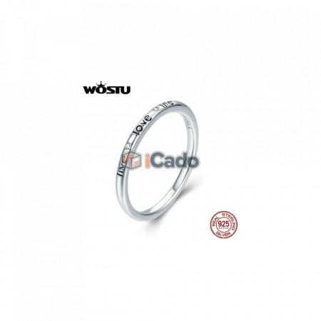 Inel din argint Love - WOSTU 925