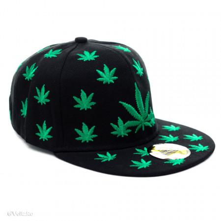 Șapcă Marijuana neagră 1