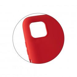Husă de protecție roșie din silicon pentru Samsung Galaxy A51 - 2