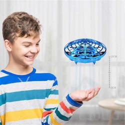 Mini Dronă OZN, UFO cu 5 senzori și lumini,Farfurie Zburătoare model HJ2088 poza 4