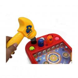 Joc Pinballcu Ciocan - 618A (3xAA) poza 2