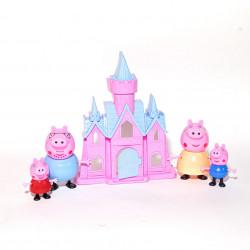 Purcelușii Peppa Pig și castelul fermecat