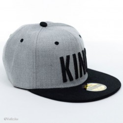 Șapcă logo King gri