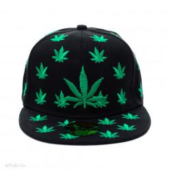 Șapcă Marijuana neagră 2