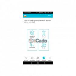 Brățară Fitness Roșie Letine Sistem: Andriod 4.3+ și iOS 8.0+ poza 5