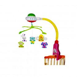 Carusel muzical pentru bebeluși Crib Bell 917 poza 1