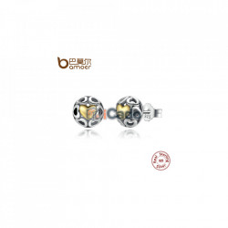 Cercei din argint My One True Love Stud Earrings
