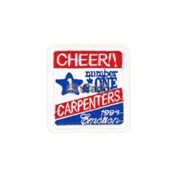 Emblema brodata Cheer!! 6x6.5cm