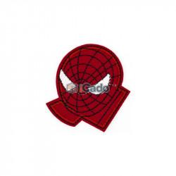 Emblema brodata Spider Man 6.5x7cm