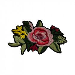 Floare brodata 11x7cm