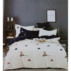 Lenjerie de pat cu 6 piese din bumbac satinat 250 x 230 cm LP6P-20