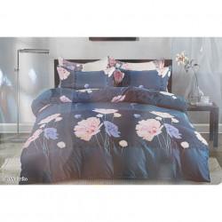 Lenjerie de pat cu 6 piese din bumbac satinat 250 x 230 cm LP6P-30