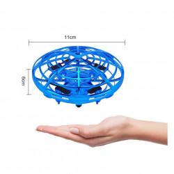 Mini Dronă OZN, UFO cu 5 senzori și lumini,Farfurie Zburătoare model HJ2088 poza 2