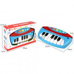Pian electronic de jucărie cu 13 clape model 5400-27 poza 2